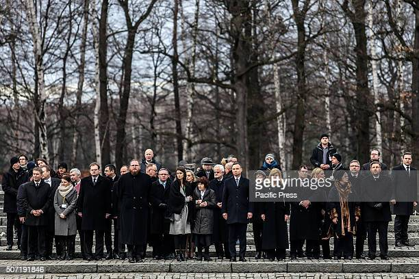 The 71st anniversary event commemorating the liberation of the German Nazi concentration and extermination camp Auschwitz Presidend of Poland Andrzej...