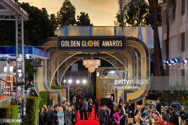 The 77th Annual Golden Globe Awards at The Beverly Hilton Hotel on January 05, 2020 in Beverly Hills, California.- PHOTOGRAPH BY P. Lehman / Barcroft...