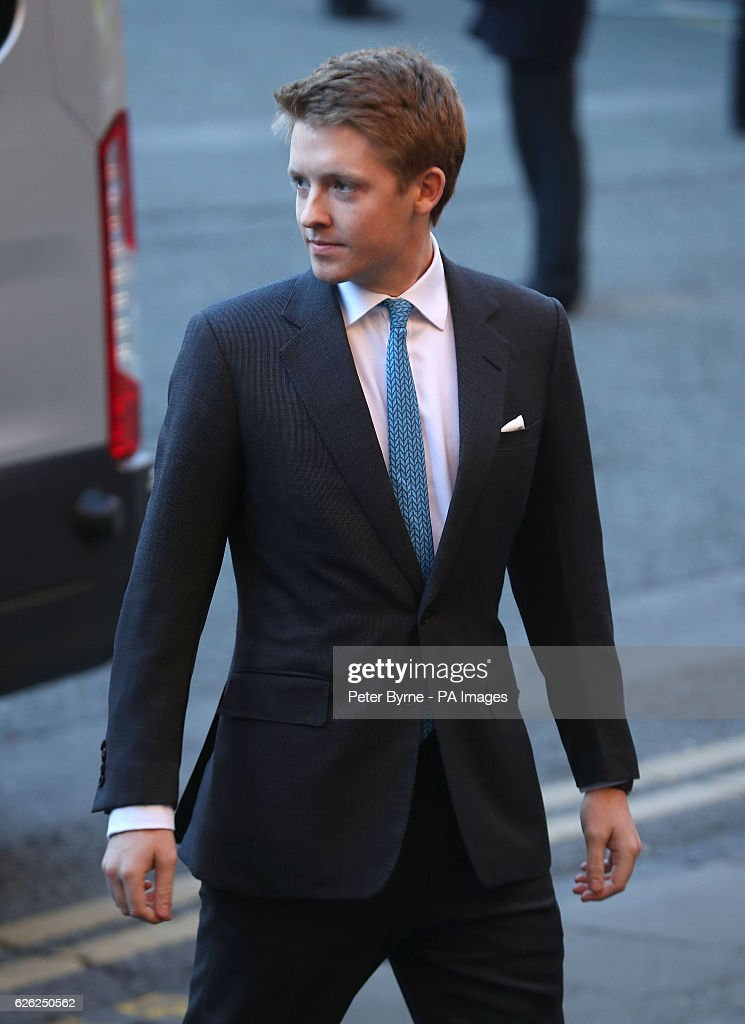 Sixth Duke of Westminster memorial service : News Photo