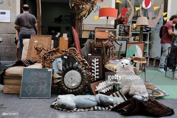 The 7th edition of DecorAcción an antique flea market Celebrated in the District of the Letters of Madrid of the 8 to 11 of June of the 2017 It can...