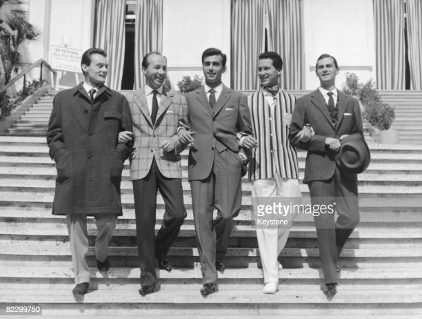 The 7th Festival of Men's Fashions at the casino in San Remo, Italy, 14th September 1958.