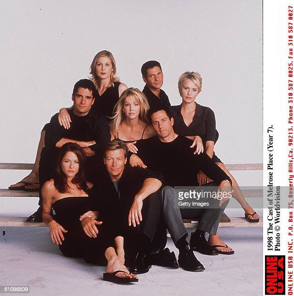 The 7Th Year Of Melrose Place John Haynnes Newton Kelly Rutherford Rob Estes Heather Locklear Jack Wagner Jamie Luner Josie Bisset Michael Calabro