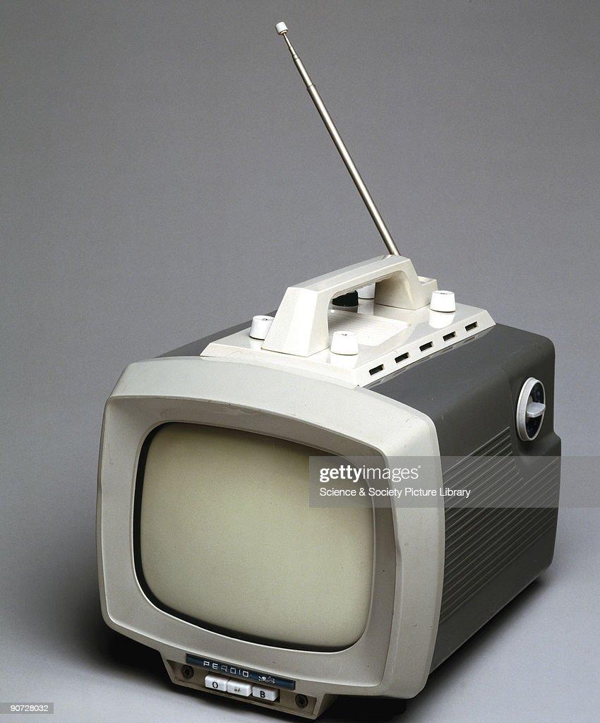 Perdio Portarama Mk II television receiver, 1962. : News Photo