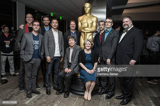 The 87th Annual Academy Awards Oscar Week Celebrates Animated Features at Samuel Goldwyn Theater on February 19, 2015 in Beverly Hills, California.
