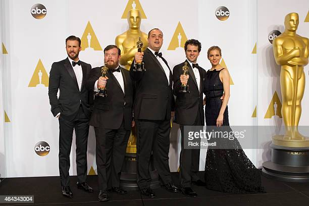THE OSCARS PRESS ROOM The 87th Oscars held on Sunday February 22 at the Dolby Theatre at Hollywood Highland Center are televised live on the ABC...