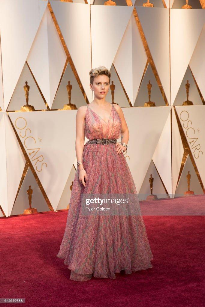 THE OSCARS(r) - The 89th Oscars(r) broadcasts live on Oscar(r) SUNDAY, FEBRUARY 26, 2017, on the ABC Television Network. JOHANSSON