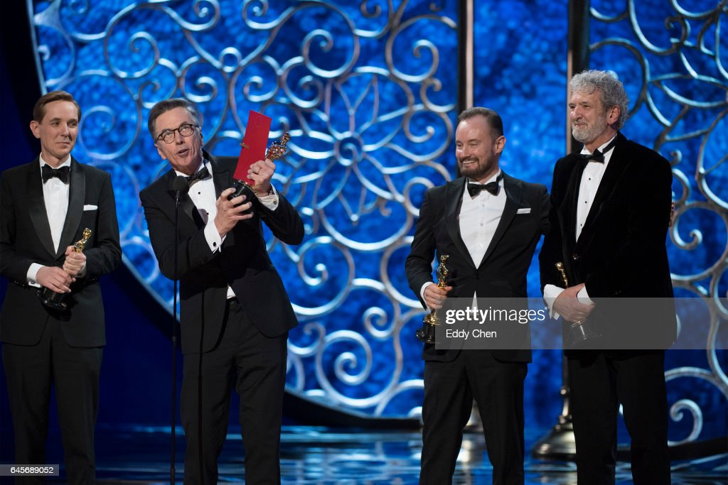 THE OSCARS(r) - The 89th Oscars(r) broadcasts live on Oscar(r) SUNDAY, FEBRUARY 26, 2017, on the ABC Television Network. CONNELL, ANDY