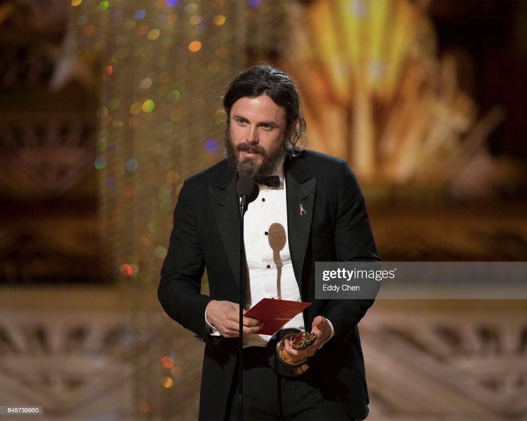THE OSCARS(r) - The 89th Oscars(r) broadcasts live on Oscar(r) SUNDAY, FEBRUARY 26, 2017, on the ABC Television Network. AFFLECK