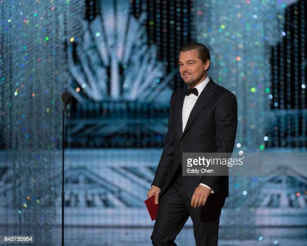 THE OSCARS The 89th Oscars broadcasts live on Oscar SUNDAY FEBRUARY 26 on the ABC Television Network DICAPRIO