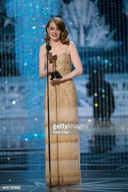 The 89th Oscars broadcasts live on Oscar SUNDAY, FEBRUARY 26 on the Walt Disney Television via Getty Images Television Network. EMMA STONE