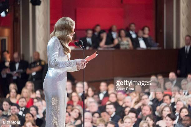 THE OSCARS The 89th Oscars broadcasts live on Oscar SUNDAY FEBRUARY 26 on the Walt Disney Television via Getty Images Television Network AMY
