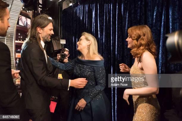 The 89th Oscars broadcasts live on Oscar SUNDAY, FEBRUARY 26 on the Walt Disney Television via Getty Images Television Network. LINUS SANDGREN, MERYL...