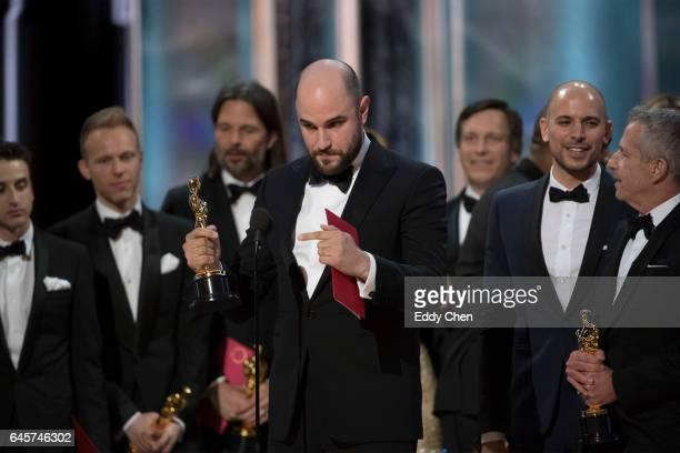 THE OSCARS The 89th Oscars broadcasts live on Oscar SUNDAY FEBRUARY 26 on the ABC Television Network PLATT
