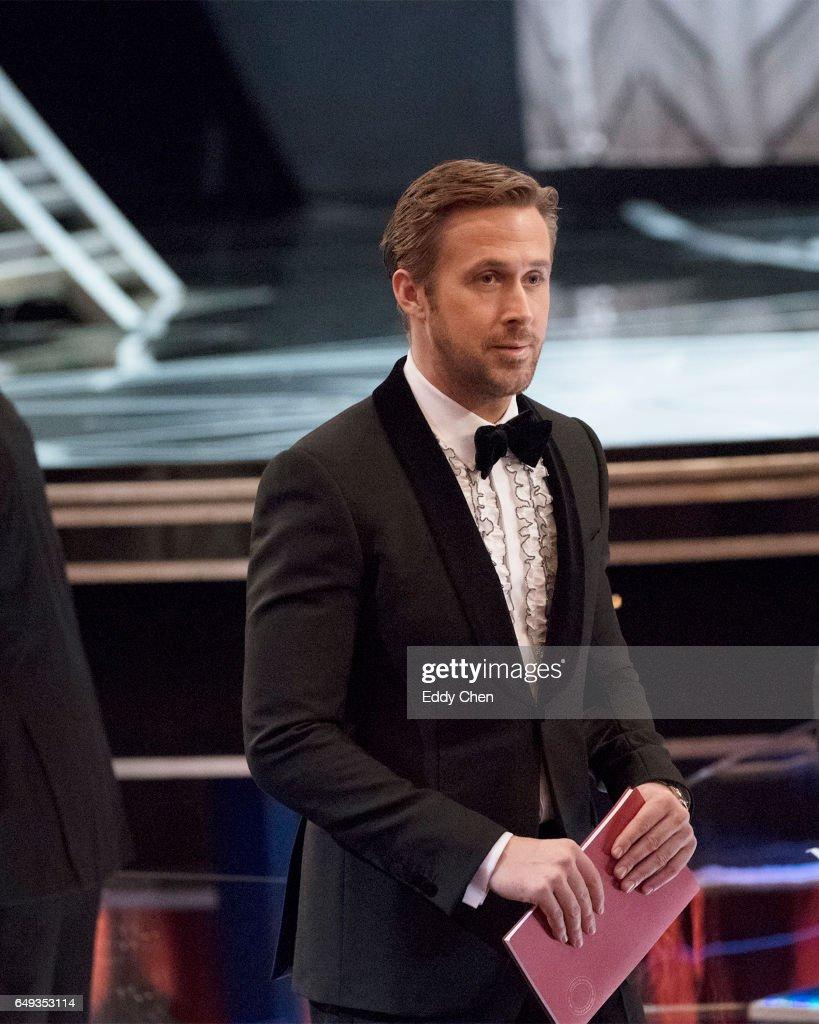 THE OSCARS(r) - The 89th Oscars(r) broadcasts live on Oscar(r) SUNDAY, FEBRUARY 26, 2017, on the ABC Television Network. GOSLING