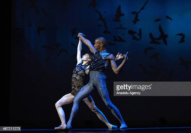 The 8th Dance Open International Ballet Festival ends on April 28 2014 in St Petersburg Russia