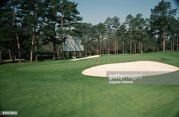 The 8th green during the 1978 Masters Tournament at Augusta National Golf Club on April 1978 in Augusta Georgia