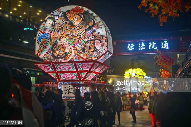 El 8º Hirosaki Netuya Matsuri en Asakusa-Okuyama Omairi-machi Shopping Arcade