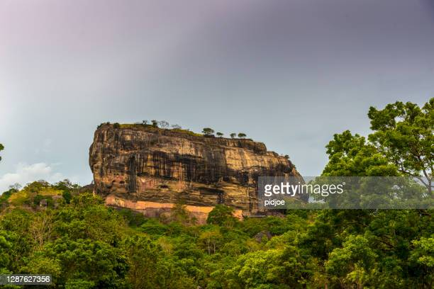 the 8th wonder of the world, sigiriya rock fortress sri lanka - archaeology stock pictures, royalty-free photos & images
