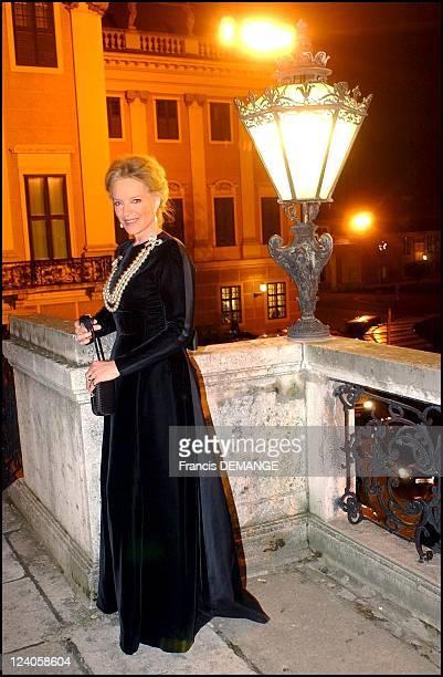 The 90th Birthday of Otto von Habsburg in Vienna Austria on November 20 2002 Princess MarieChristine of Kent