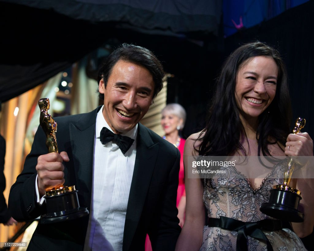 ABC's Coverage Of The 91st Annual Academy Awards – Backstage : News Photo