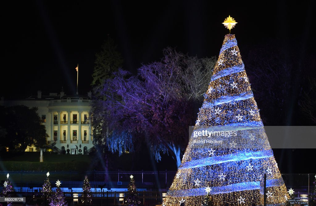 The 95th annual National Christmas Tree Lighting is held by the National Park Service at the White House Ellipse in Washington, D.C., November 30, 2017. The Beach Boys, Wynonna, The Texas Tenors, Craig Campbell were among the artists who provided the entertainment.