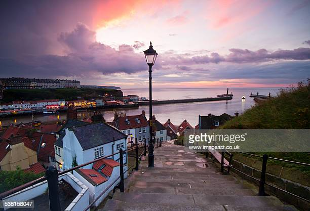 The 99 steps at Whitby