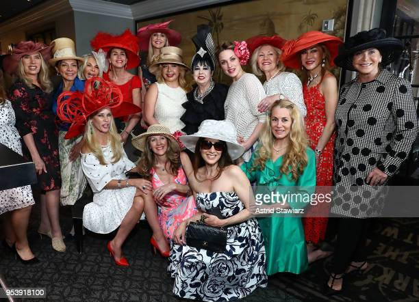 The 9th annual Bellini and Bloody Mary Hat Party hosted by CEO MichelleMarie Heinemann Of Old Fashioned Mom Magazine is held At Bar Pleiades on May 2...