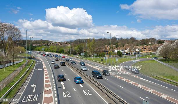 the a2 - mansfield england stock pictures, royalty-free photos & images