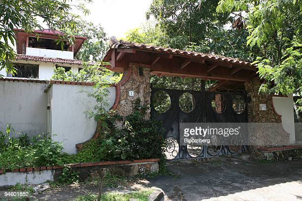 The abandoned house of Manuel Noriega former President of Panama sits empty in Panama City Panama on Thursday Sept 6 2007 Manuel Noriega was granted...