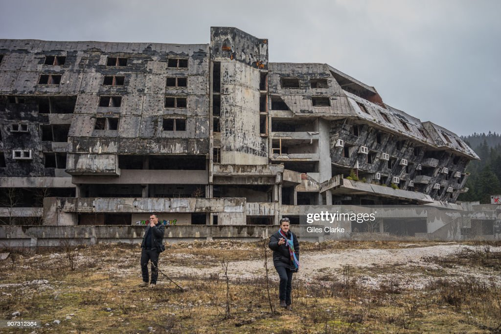 Former Winter Olympic Village from 1984 in Sarajevo. : News Photo