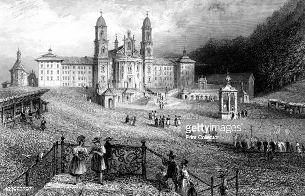 The Abbey of Einsiedeln Schwyz Switzerland 1836