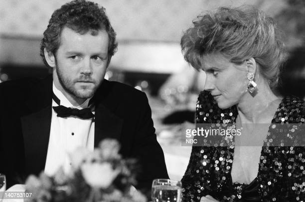 ST ELSEWHERE The Abby Singer Show Episode 21 Pictured David Morse as Dr Jack Morrison Cindy Pickett as Dr Carol Novino Photo by Robert Isenberg/NBCU...