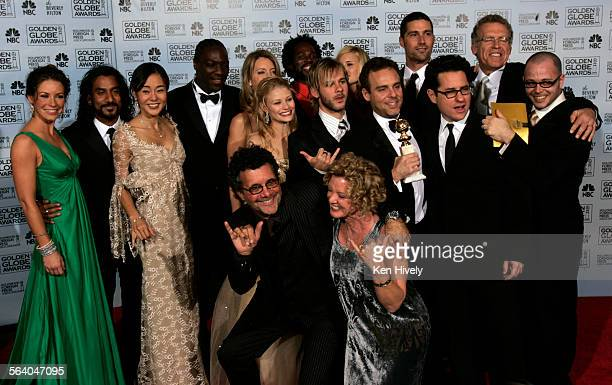 The ABC cast of Lost won the Golden Globe for the Best Television Dramatic Series at the 63rd Annual Golden Globe Awards at the Beverly Hills Hilton...