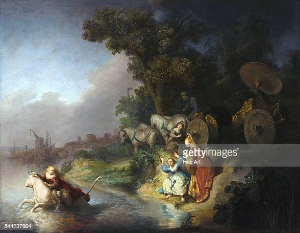 The Abduction of Europa 1632 Oil on oak panel 622 x 77 cm J Paul Getty Museum Los Angeles California
