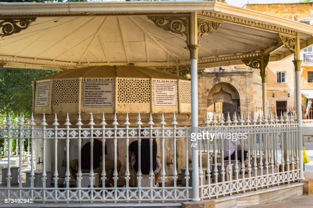 the ablution fountain in the selimiye mosque (st. sophia cathedral), nicosia, cyprus - selimiye mosque stock pictures, royalty-free photos & images