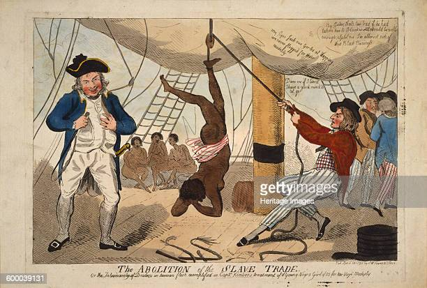 The Abolition of the Slave Trade Or the inhumanity of dealers in human flesh exemplified in Captn Kimber's treatment of a youn 1792 Private...