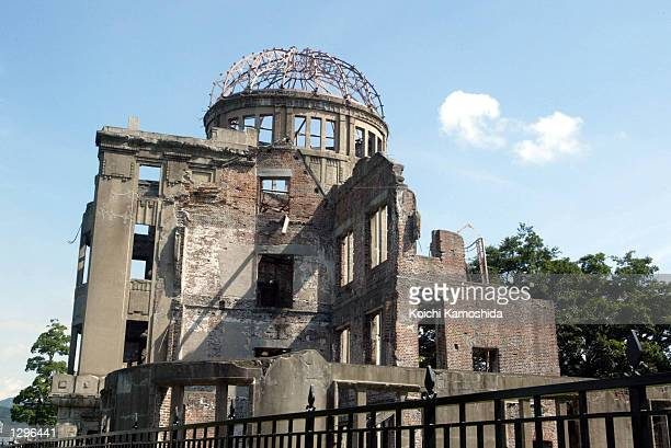 The Abomb Dome which survived the 1945 atomic bombing on Hiroshima is within walking distance of the new Peace Memorial Park dedicated for the 57th...