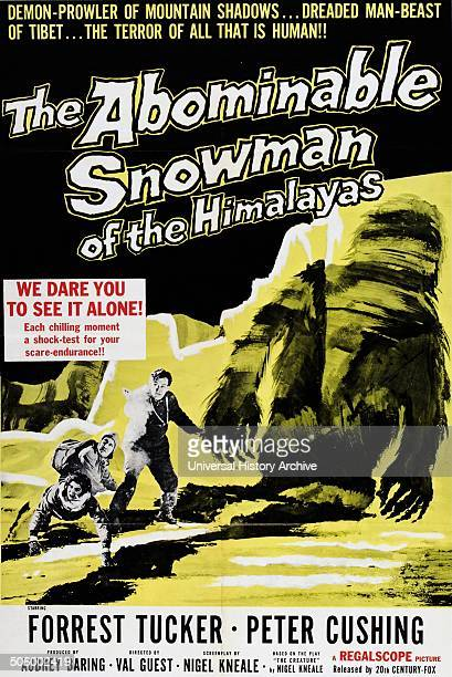 'The Abominable Snowman of the Himalayas' a 1957 British horror film