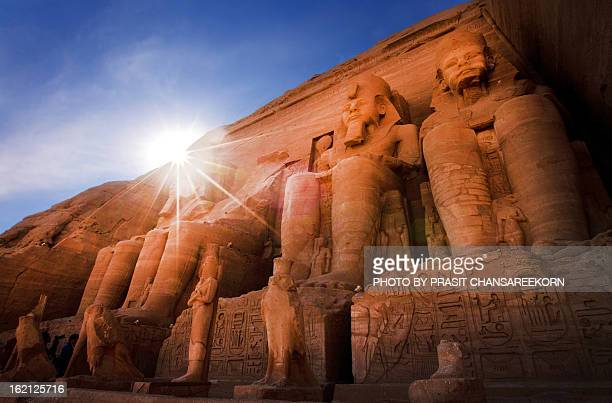 The Abu Simbel, Egypt