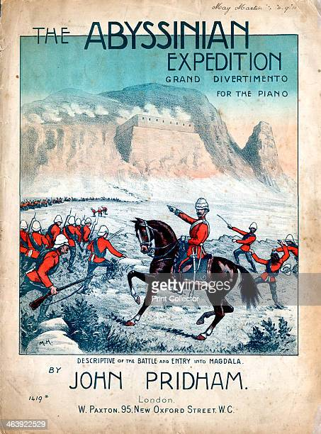 The Abyssinian Expedition 1868 Robert Cornelis Napier 1st Baron Napier of Magdala British soldier leading the attack on the Abyssinian fortress of...