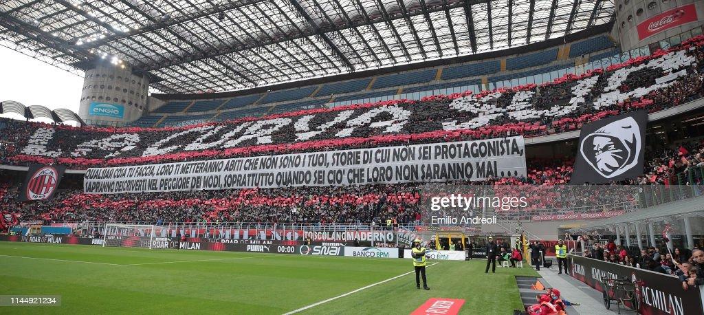 ITA: AC Milan v Frosinone Calcio - Serie A