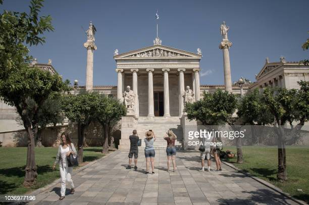 The Academy of Athens is a part of Athenian Trilogy which consists of the National Library the University and the Academy of Athens These three...
