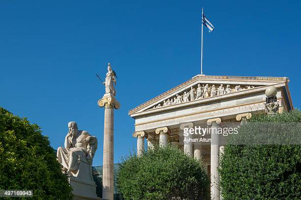 CONTENT] The Academy of Athens is Greece's national academy and the highest research establishment in the country It was established in 1926 and...