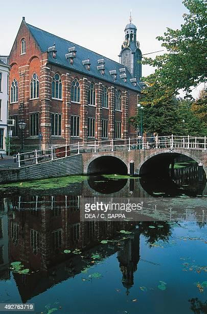 The Academy of Leiden University the oldest university in the Netherlands founded in 1575 The Netherlands