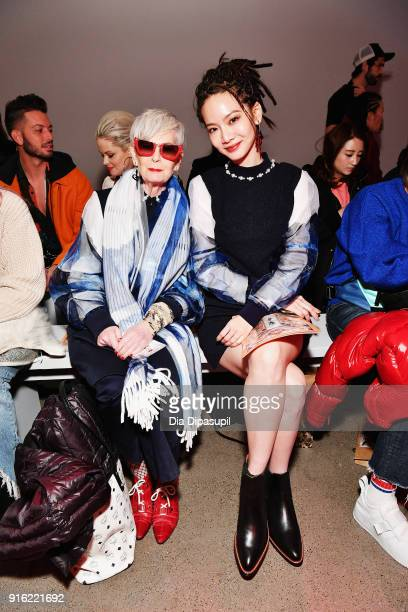 The Accidental Icon, Lyn Slater and Tseng Chih-Chiao attend the Just In XX presentation during New York Fashion Week: The Shows at Gallery II at...