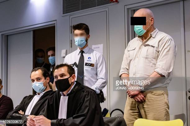 The accused, German Fred Wittig, pictured at the assize jury constitution for the trial of German mechanic Wittig for the murder of car dealer Steve...