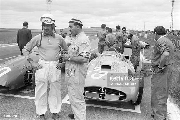 The Acf Automobile Grand Prix Of France In Reims In 1956 Fangio