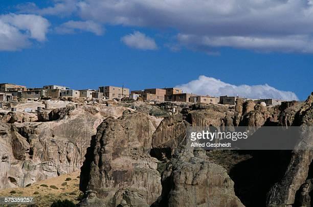 The Acoma Pueblo mesa in New Mexico USA 1991