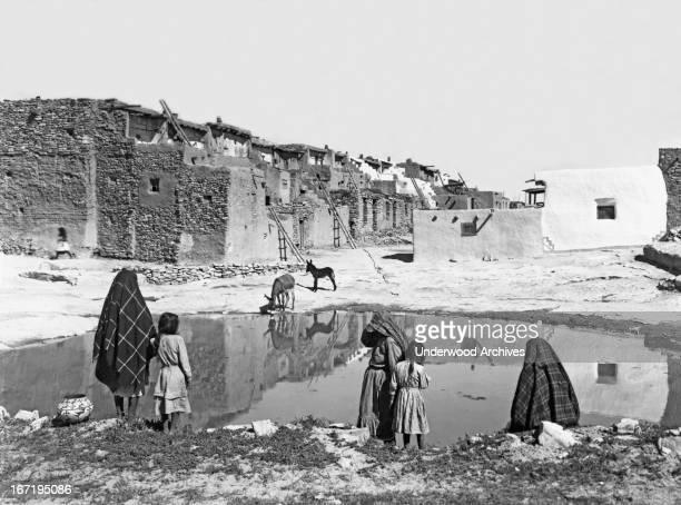 The Acoma Pueblo the 'Sky City' Acoma New Mexico 1890