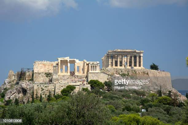 The acropolis from Pnyx hill